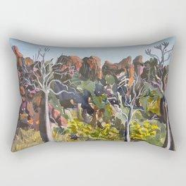 Off Tunnel Creek Road Rectangular Pillow