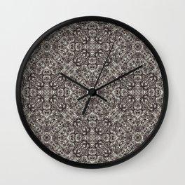 Luxury Modern Baroque Pattern Wall Clock