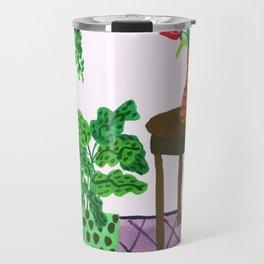 Potted plant IV Travel Mug