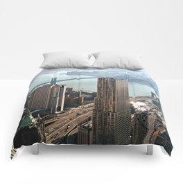 Vintage New City Comforters
