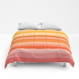 Multi Color Stripes Comforters