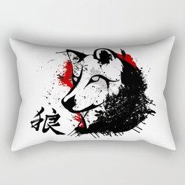 Wolf Okami Rectangular Pillow