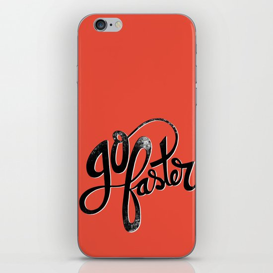 Go Faster! iPhone & iPod Skin