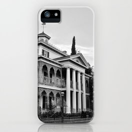 Haunted Victorian Mansion iPhone Case