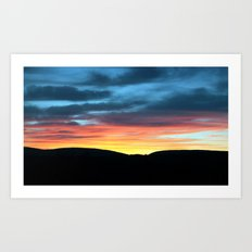 A Touch of Glow Art Print