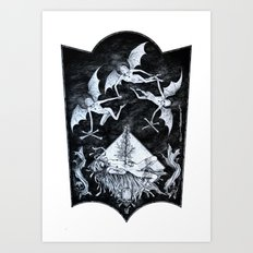 Aconitum Art Print