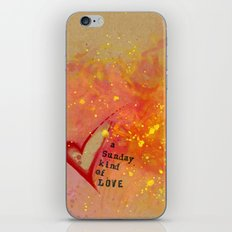 Kristin's Valentine iPhone & iPod Skin