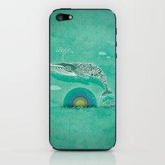 Whale Future iPhone & iPod Skin