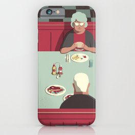 Day Trippers #11 - Diner iPhone Case