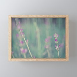 Lavender - Floral Photography #Society6 Framed Mini Art Print