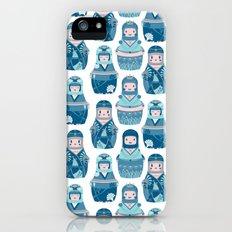 Matrioshkas Pattern iPhone (5, 5s) Slim Case