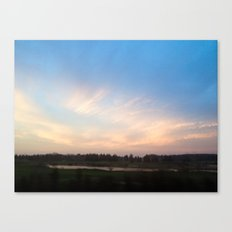 Sunset Drive By Canvas Print
