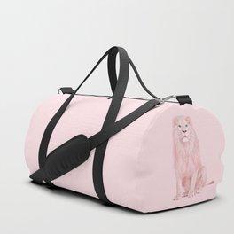 ALBINO LION Duffle Bag