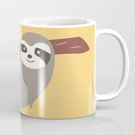 Sloth card - Am I late? Coffee Mug
