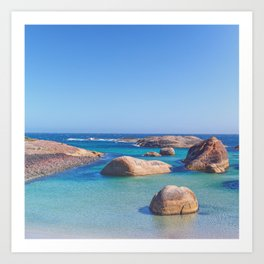 Elephant Cove 1 Art Print