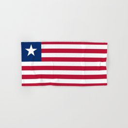 Liberia Flag Hand & Bath Towel
