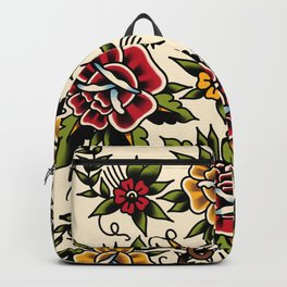 Flower tattoo Rucksack