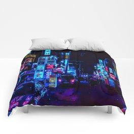 Blue and Purple nights Comforters