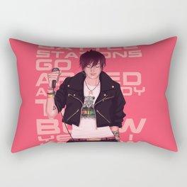 Punk'ed Rectangular Pillow