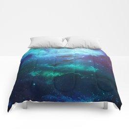 Mystic Dolphins Underwater Scenery Comforters