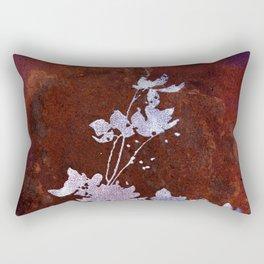 Flaming Flowers Rectangular Pillow