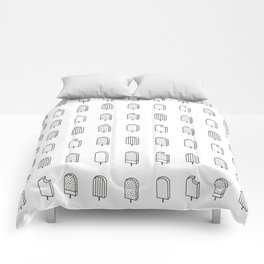 ICE CREAM / pattern pattern Comforters