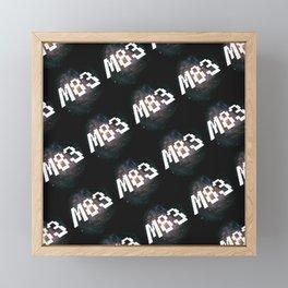 M83 Framed Mini Art Print