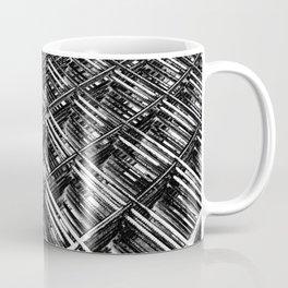 Rebar On Rebar - Industrial Abstract Coffee Mug