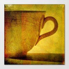 I would love a cup of tea ..... Canvas Print
