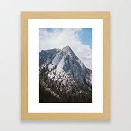 Thor peak Framed Art Print
