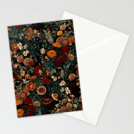 EXOTIC GARDEN - NIGHT XXI Stationery Cards