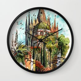 Calle Aldama, San Miguel de Allende Wall Clock