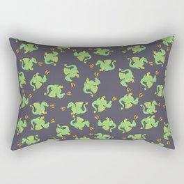 Cute + ferocious dragon pattern Rectangular Pillow