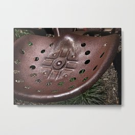 Vintage / Antique Seat . Metal Print