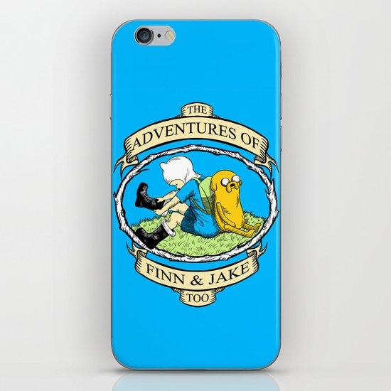 The Adventures of Finn & Jake, Too iPhone & iPod Skin
