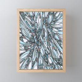 Cathedral Abstract Contemporary Art Framed Mini Art Print