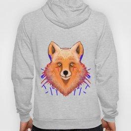 Smudge Grunge Fox Hoody