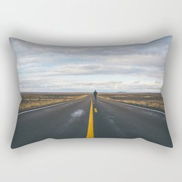 Explore The Open Road Rectangular Pillow