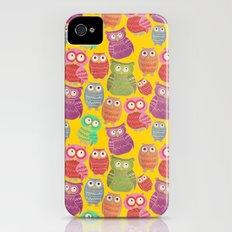 Bright Owls iPhone (4, 4s) Slim Case