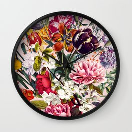 Exotic Garden - Summer Wall Clock