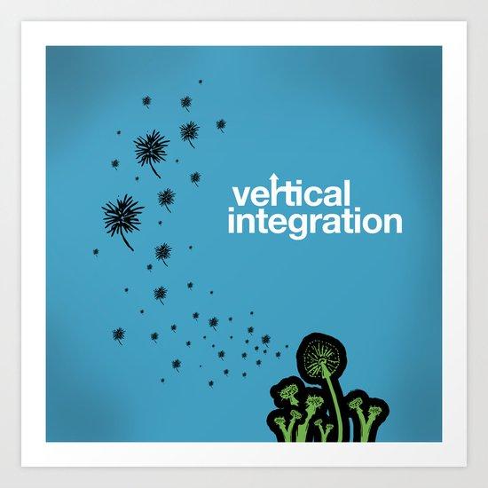 vertical integration Art Print