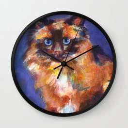Beautiful Birman Wall Clock