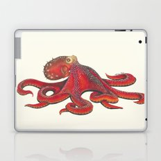 Red Octopus Laptop & iPad Skin