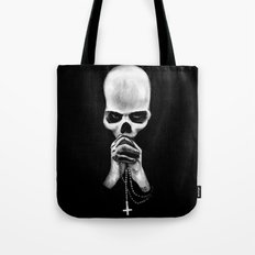 Straight Is the Gate and Narrow the Way Tote Bag