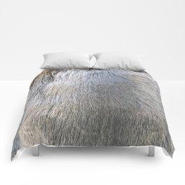 Rabbit Fur Comforters