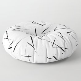 Echoic repeated Floor Pillow