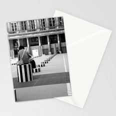 Full speed ahead into the wall Stationery Cards