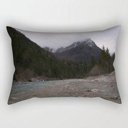 Koritnica River Rectangular Pillow
