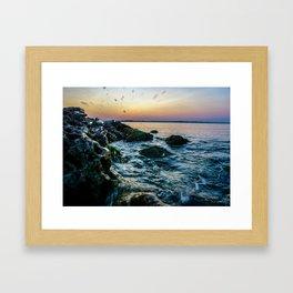 Waco Waves Framed Art Print