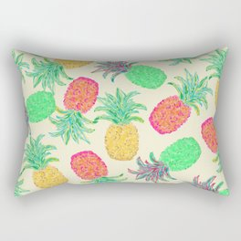 Pineapple Pandemonium (multi) Rectangular Pillow